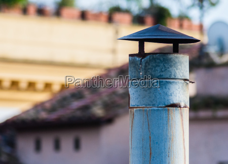 a chimney turned off
