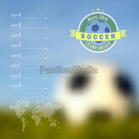 brasilien fussballmeisterschaft infografik