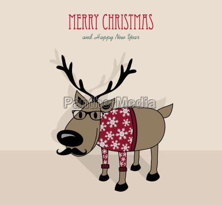 frohe weihnachten und ein glueckliches neues