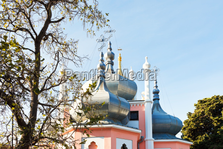 kuppel der kirche st johannes chrysostomus