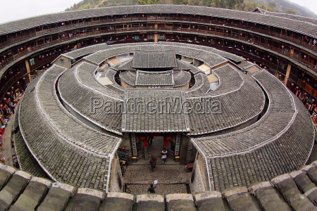 fujian tulou special architecture of china