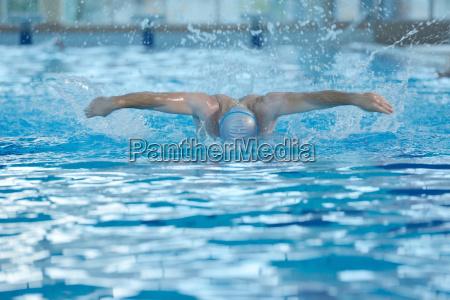 schwimmersportler