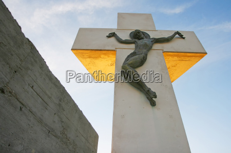 church stone cross