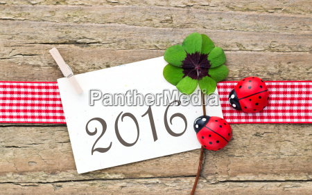 2016 new year new year card