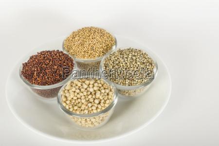 verschiedene millets