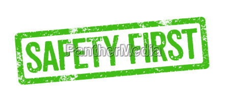 green stamp safety first