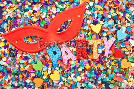 party on confetti