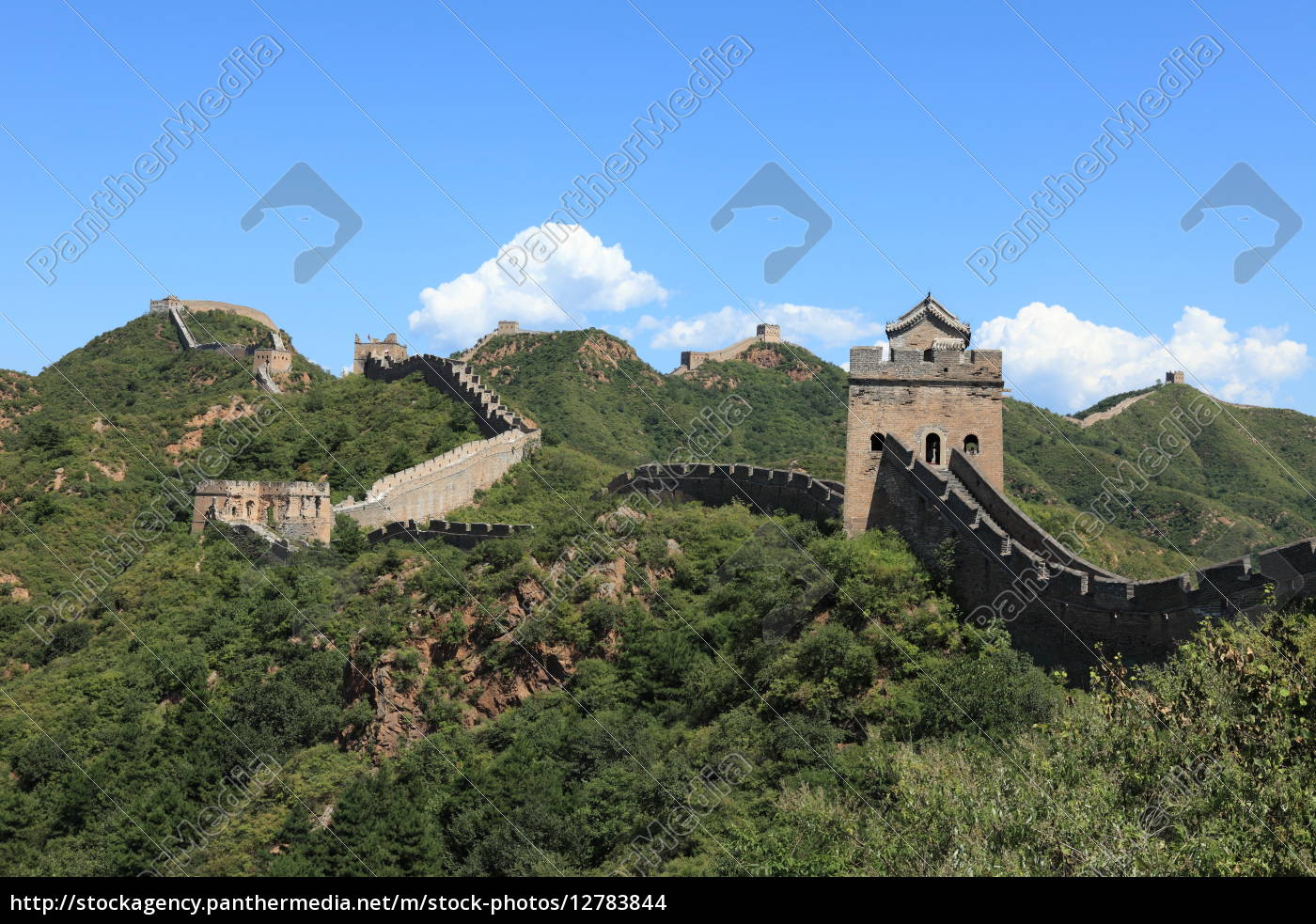 die, grosse, mauer, in, china - 12783844