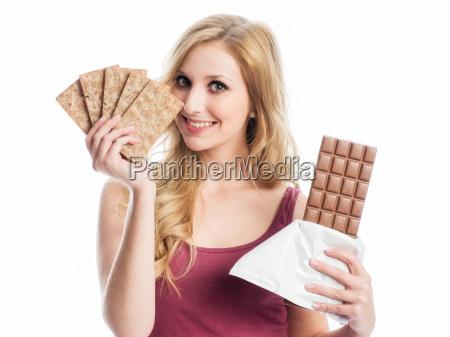 knaeckebrot oder schokolade