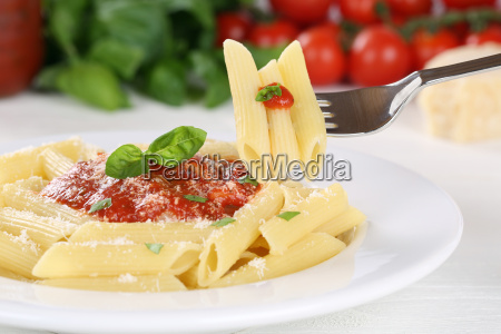 penne rigate napoli with tomato sauce