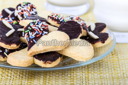cookies heart heart shape biscuits bake