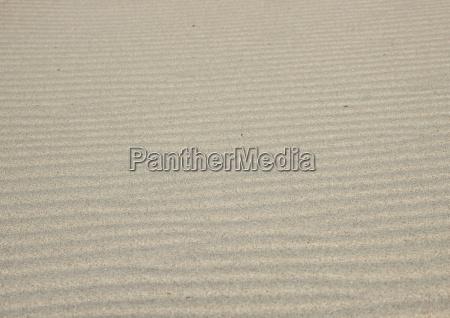 isolierte horizontale sandwellentextur am strand