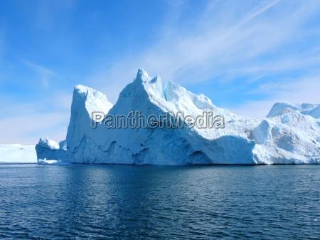 eisberg bei groenland
