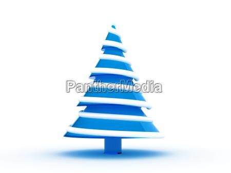 weihnachtsbaum 3d rendering