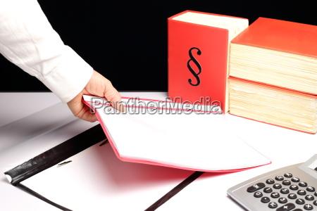 dokumente ablegen