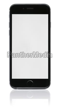 neues telefon mit leeren bildschirm auf