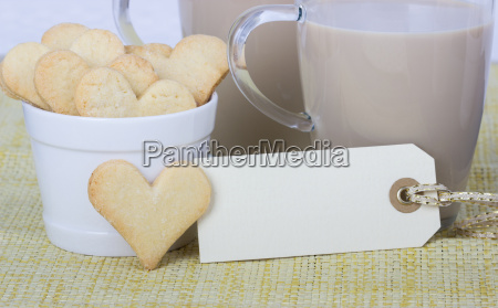 cookies biscuits bake coffee copy space