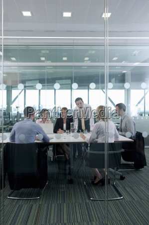business people meeting in conference room
