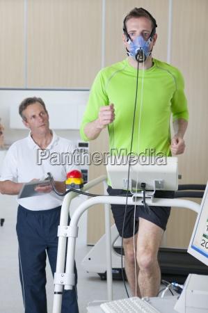 corredor de monitoreo cientifico del deporte