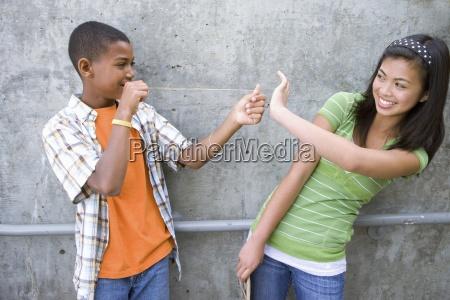 teenage boy 13 15 preparing to