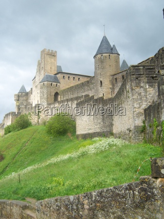 the medieval village of carcassonne