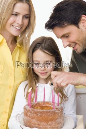 risilla sonrisas fiesta celebracion posicion pastel