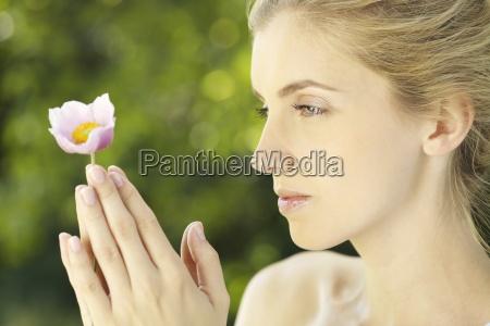 blume pflanze gewaechs portrait portraet potrait