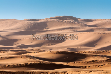 duenen in der wueste sahara marokko