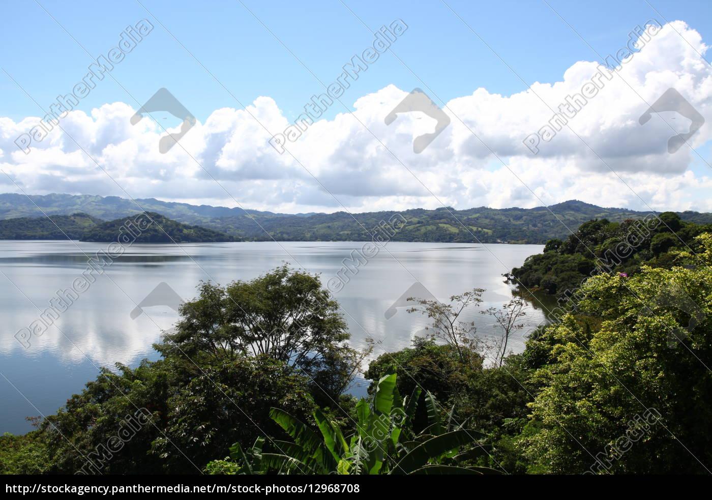 Mexiko, See, Gewässer, Himmel, Wolken, Urlaub - 12968708