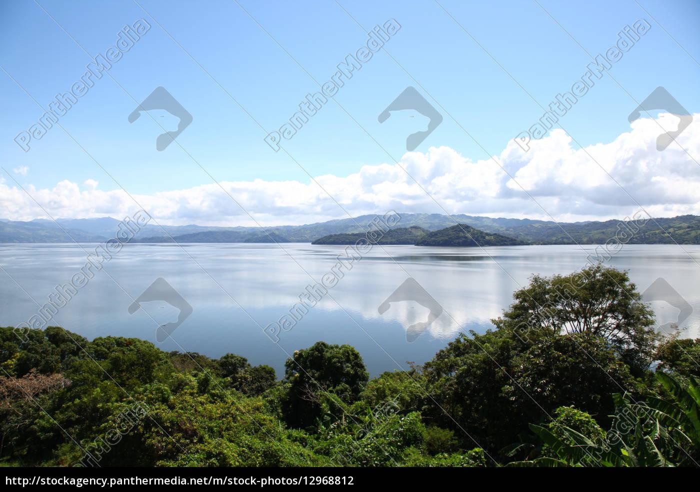 Mexiko, See, Gewässer, Himmel, Wolken, Urlaub - 12968812