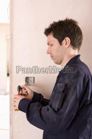 elektriker verdrahtung lichtschalter