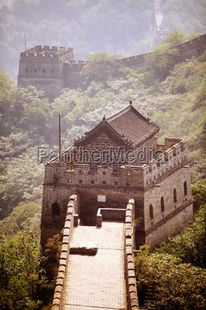 asien mauer porzellan erdwall china reich