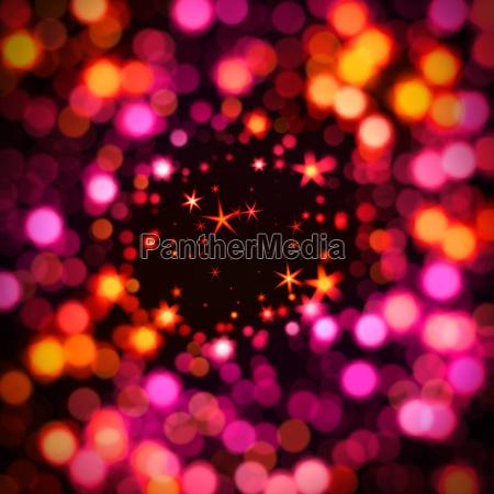 bokeh and stars