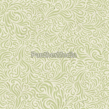 seamless floral pattern on recycled paper