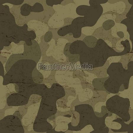 militaerische tarnung nahtlose muster vektor