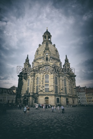 deutschland sachsen dresden die frauenkirche