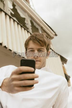 telefon telephon froschperspektive menschen leute personen