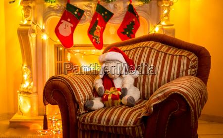 photo of toy lamb sitting on