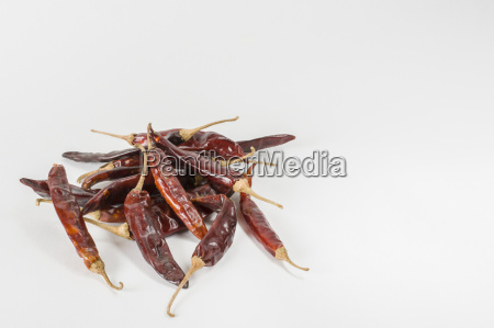 dry red indian chillies