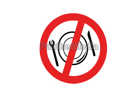 symbol prohibition signs food and drink