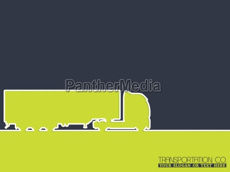 truck company advertising background design