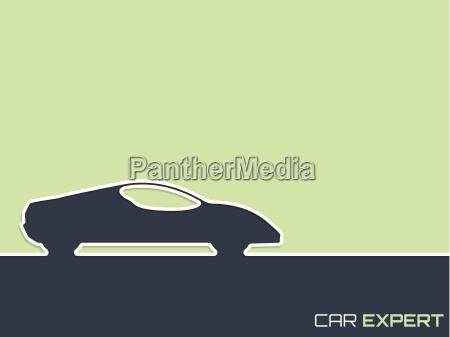 sports car advertising background design