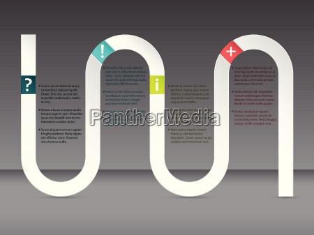 wave infografik design