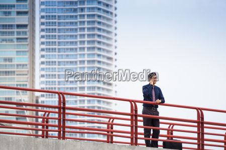 portrait confident chinese asian office worker