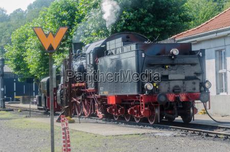 heck einer dampf lokomotive