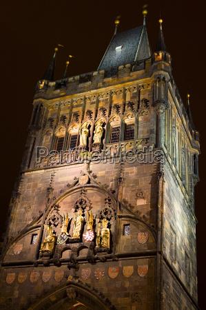 lesser brueckenturm praague