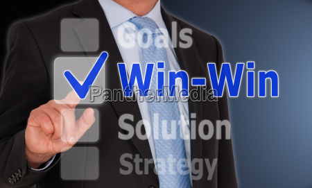 win win situation business concept