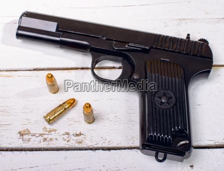 tokarev pistole durch die rote armee