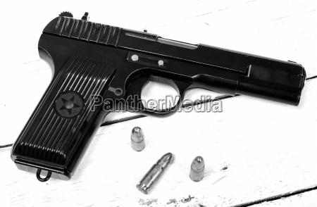 tokarev pistole von der roten armee
