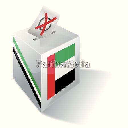 wahlbox vereinigten arabischen emirate